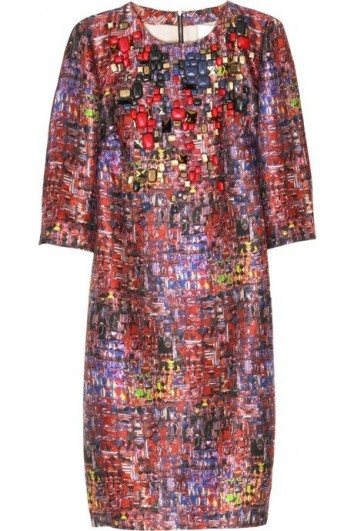 3.1 phillip lim pixel print dress