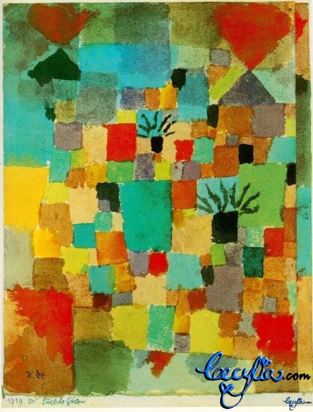Paul Klee's Tunisian Gardens