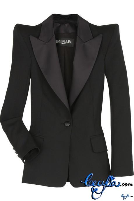 Balmain tuxedo wool jkt