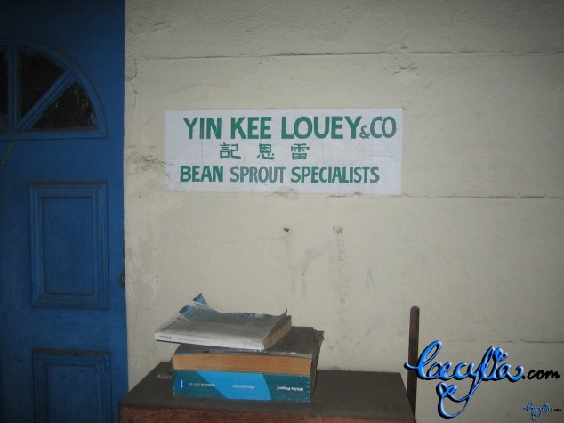 Yin Kee Louey - Bean Sprout Specialists