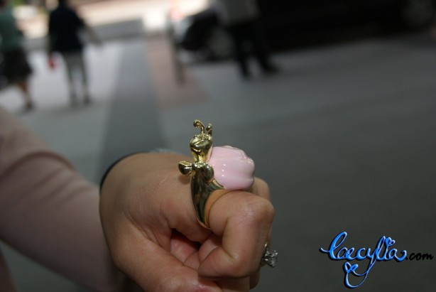 pink gold snail ring3