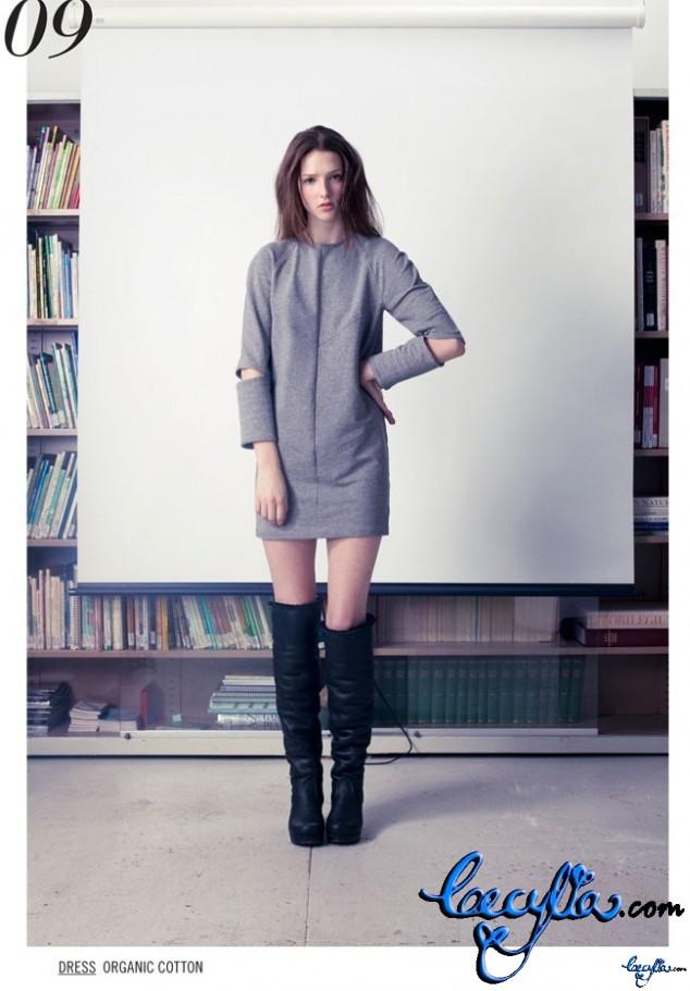 bodkin grey arrow dress