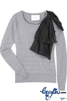 thread social bow sweatshirt