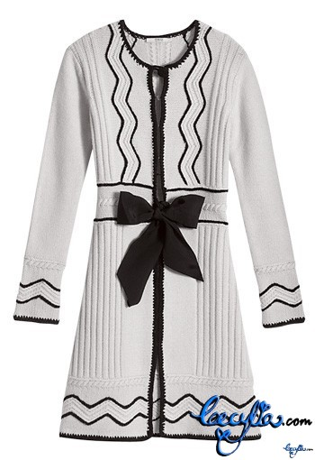 valentino wool blend dress