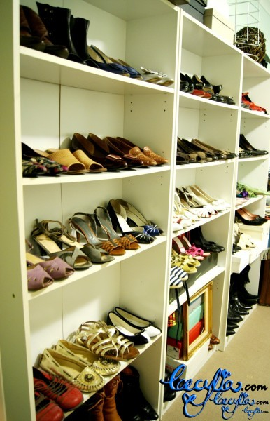 Shelves of Shoes