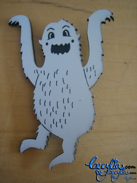 My Yeti brooch!