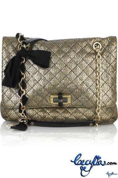 Lanvin Happy Sac Partage leather bag