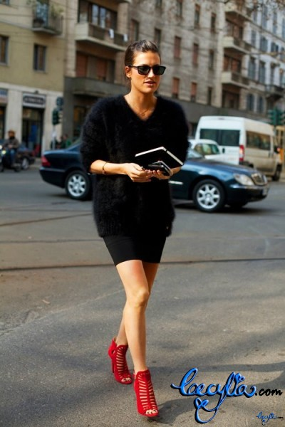 red shoes to die for