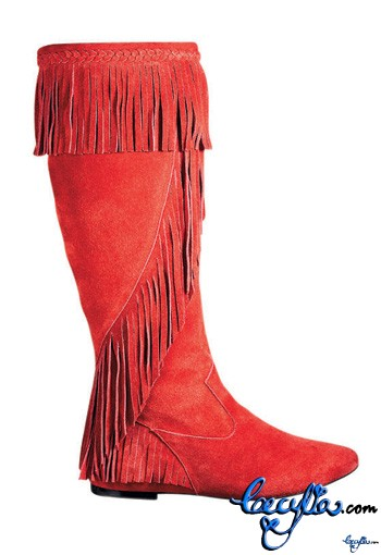 sam deman red boots