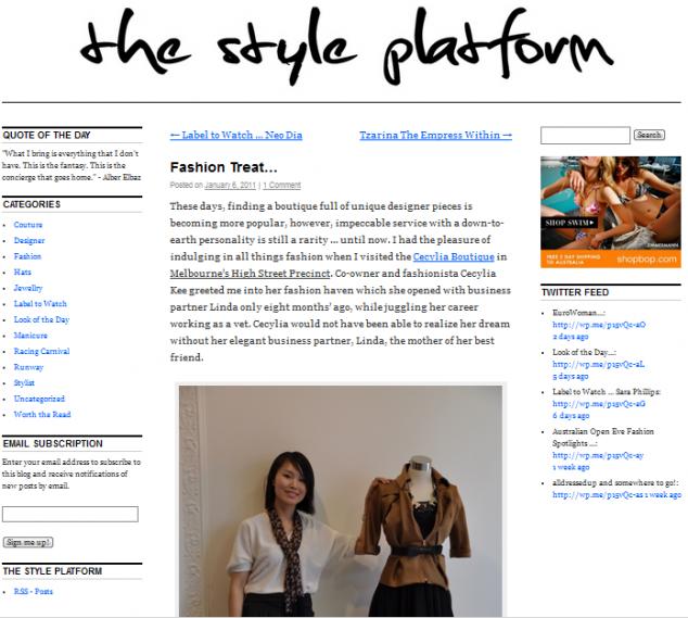 style plateform
