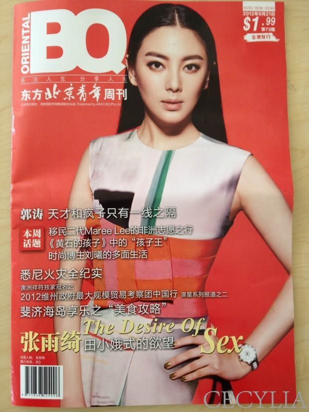 Oriental BQ Cover